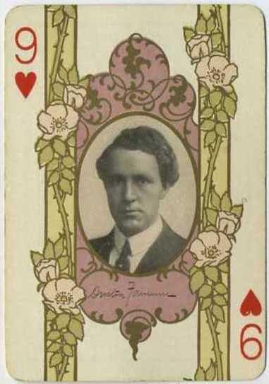 Dustin Farnum - 1908 Playing Card