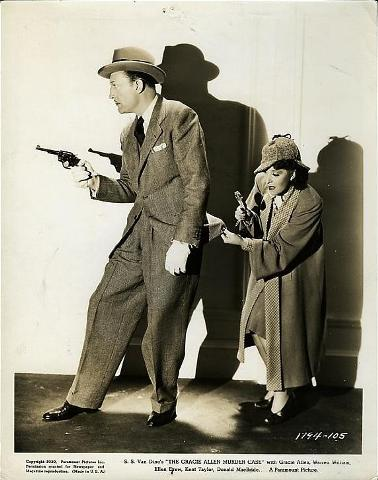 Warren William with Gracie Allen in The Gracie Allen Murder Case