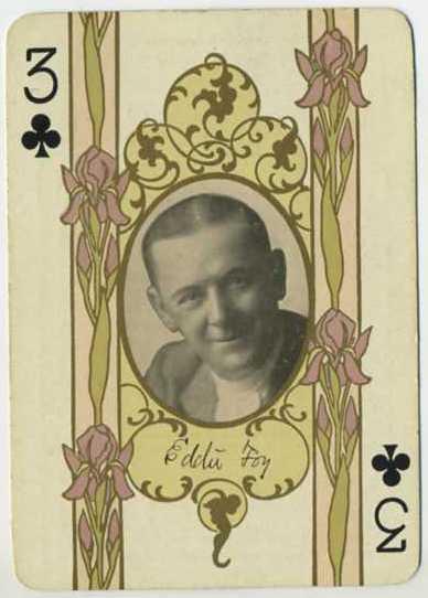 Eddie Foy -1908 Playing Card