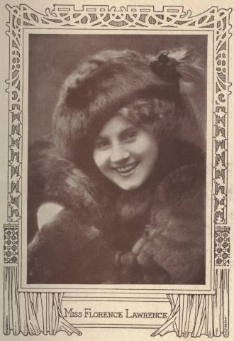 Florence Lawrence - From inside the December 1911 issue of The Motion Picture Story Magazine