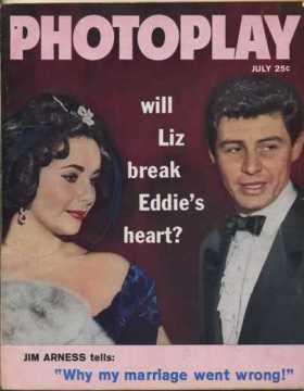 The third July 1959 magazine is Photoplay - Will Liz Break Eddie's Heart?