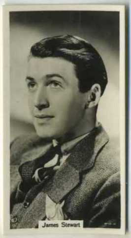 James Stewart - 1939 RJ Lea Tobacco Card