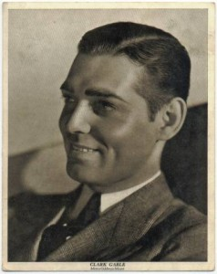 Clark Gable Early 1930s Movie-Land Keeno Game Piece