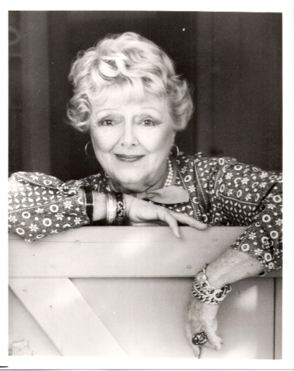 Photo of Janet Gaynor later in life, approximately 1980