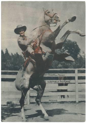 1945 Screen Art Cowboys & Cowgirls