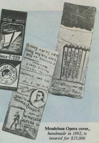 Collecting Matchcovers In 1950 Mid 20th Century