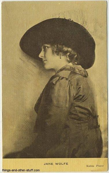Jane Wolfe Kraus Postcard