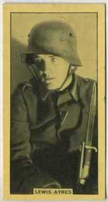 Lew Ayres 1928 BAT Cinema Stars Tobacco Card
