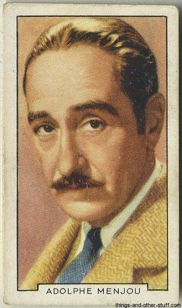 1935 Gallaher Adolphe Menjou