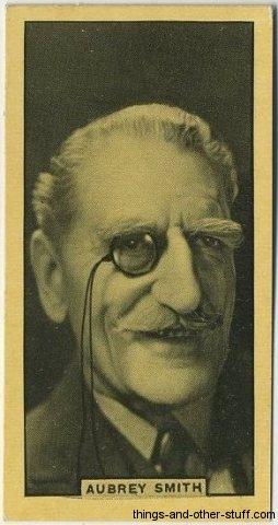 C Aubrey Smith 1932 Tobacco Card
