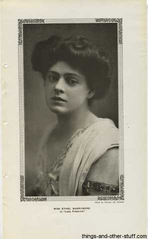Ethel Barrymore March 1909