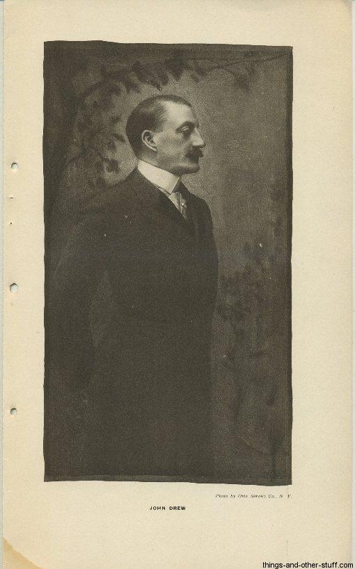 John Drew Jr October 1907