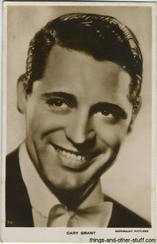 Cary Grant early Postcard