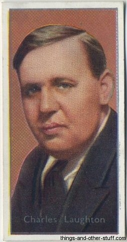 Charles Laughton 1936 Tobacco Card