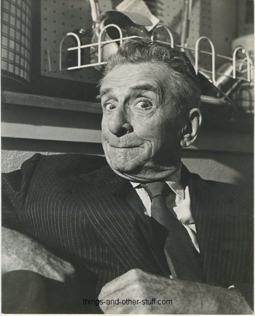 Edward Everett Horton 1960s Promotional Portrait