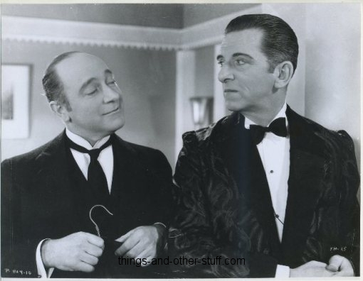 Edward Everett Horton and Eric Blore in Top Hat