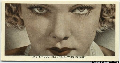 Elissa Landi 1936 Ardath Who Is This? Tobacco Card