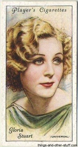 1934 Player's Cigarettes Tobacco Card