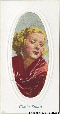 1936 Godfrey Phillips Screen Stars Tobacco Card