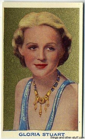 1939 Rothmans Beauties of Cinema Tobacco Card