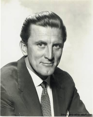 Kirk Douglas 1950 Publicity Photo