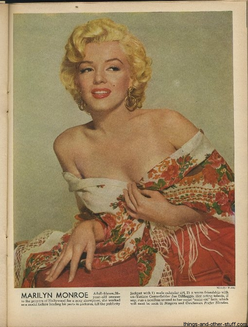 Marilyn Monroe Time Magazine November 17 1952
