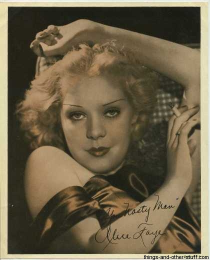 Alice Faye mid 1930s Premium Photo