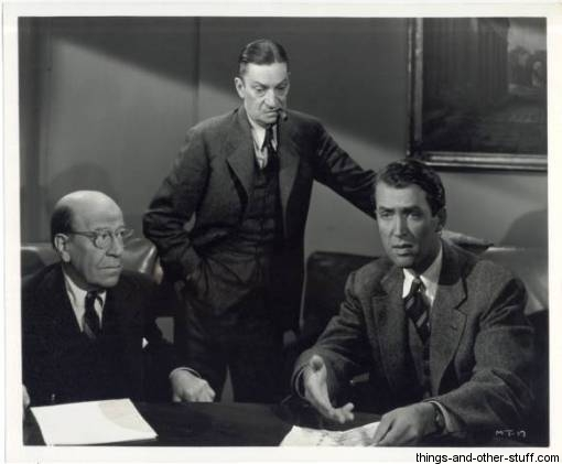Still Photo from Magic Town featuring Donald Meek, Ned Sparks and James Stewart