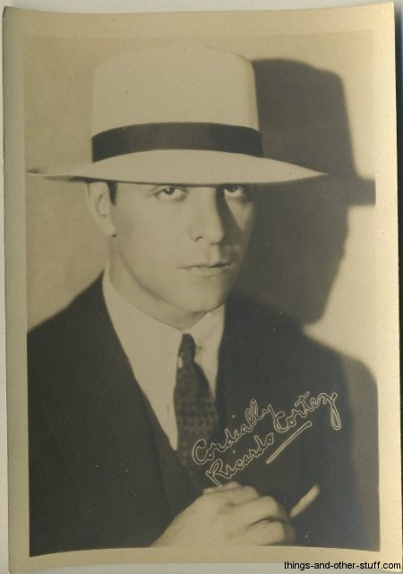 Ricardo Cortez 1920s Fan Photo