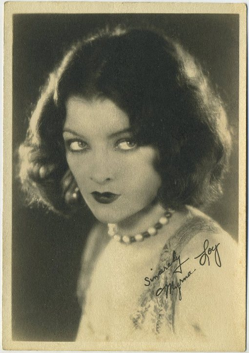 Myrna Loy 1920s era 5x7 Fan Photo