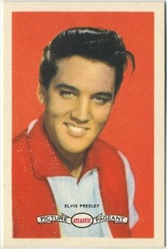 Elvis Presley 1958 Atlantic Oil Card