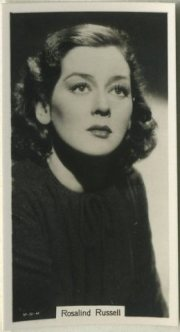 Rosalind Russell 1939 RJ Lea Tobacco Card