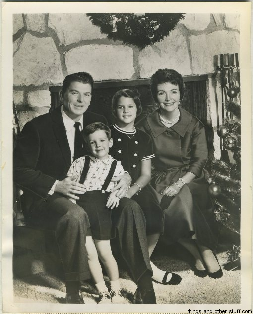 December 8 1961 Ronald Reagan and Family