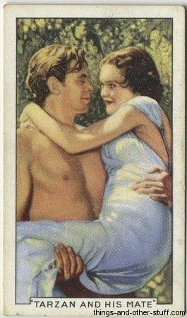 Johnny Weissmuller Tarzan Maureen OSullivan
