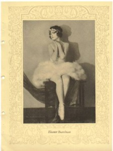 Eleanor Boardman page of 1923 Motion Picture Director Association Program