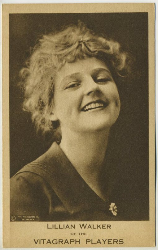 Lillian Walker 1911 Vitagraph Players Postcard