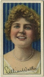 Lillian Walker circa 1916 Imperial Tobacco Trading Card