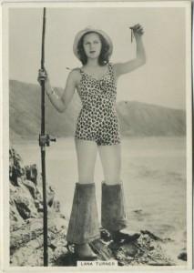 Lana Turner 1930s BAT Modern Beauties Series 6 tobacco card