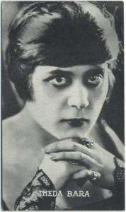Theda Bara 1910s Trading Card