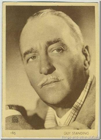 Sir Guy Standing 1930's Uruguay tobacco premium