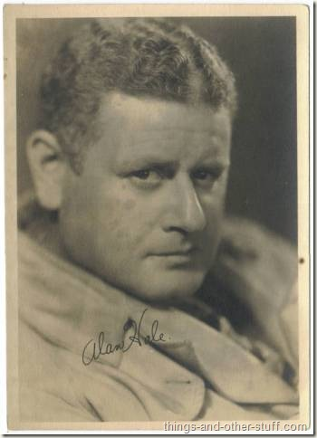Alan Hale 5x7 Fan Photo
