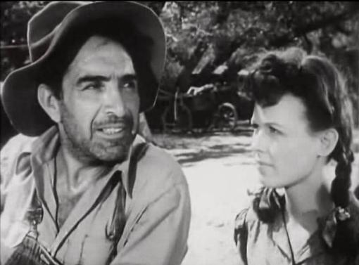 J Carroll Naish and Noreen Nash in The Southerner