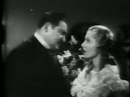 Edward Arnold and Jean Arthur