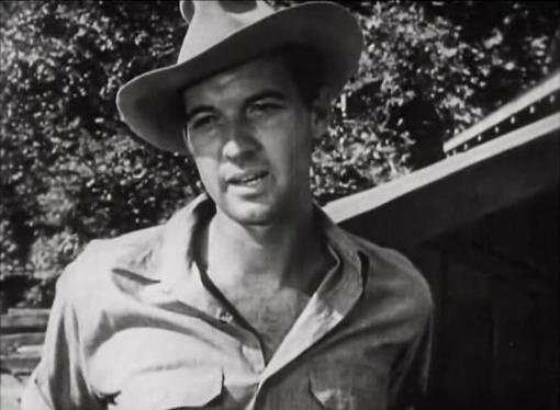 Zachary Scott as Sam Tucker in The Southerner