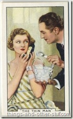 William Powell and Myrna Loy 1935 Gallaher Tobacco Card