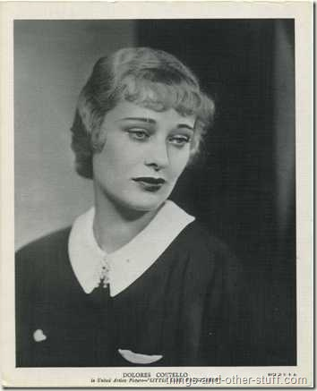 Mid-1930's Dolores Costello, here on an 8x10 linen textured R95 Premium Photo