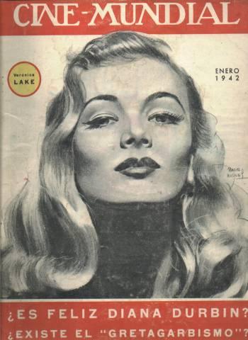 Veronica Lake 1942 Cine-Mundial