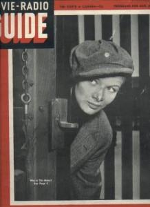 Veronica Lake 1942 Movie Radio Guide