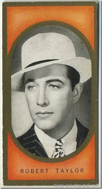 Robert Taylor 1938 Carreras tobacco card