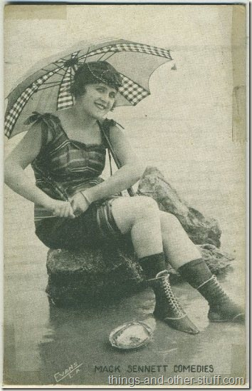 Vera Reynolds 1920s Mack Sennett Comedies Arcade Card